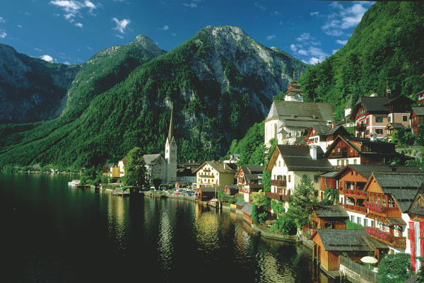 Hallstatt Salzkammergut Austria Photo Pictures To Pin On Pinterest