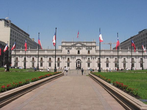 Chilean Presidential Palace la Moneda Presidential Palace
