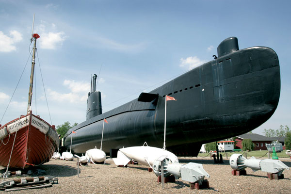 Maritime Museum Aalborg gå fisse
