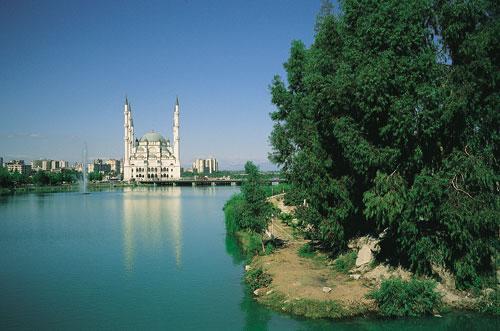Adana Turkey  City pictures : Sabanci Camii mosque, Adana , Turkey Photo