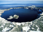 Crater Lake Volcano, USA, Volcano photo