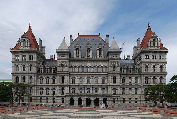 New York (NY) United States  city images : New York state capitol building, Albany, United States photo